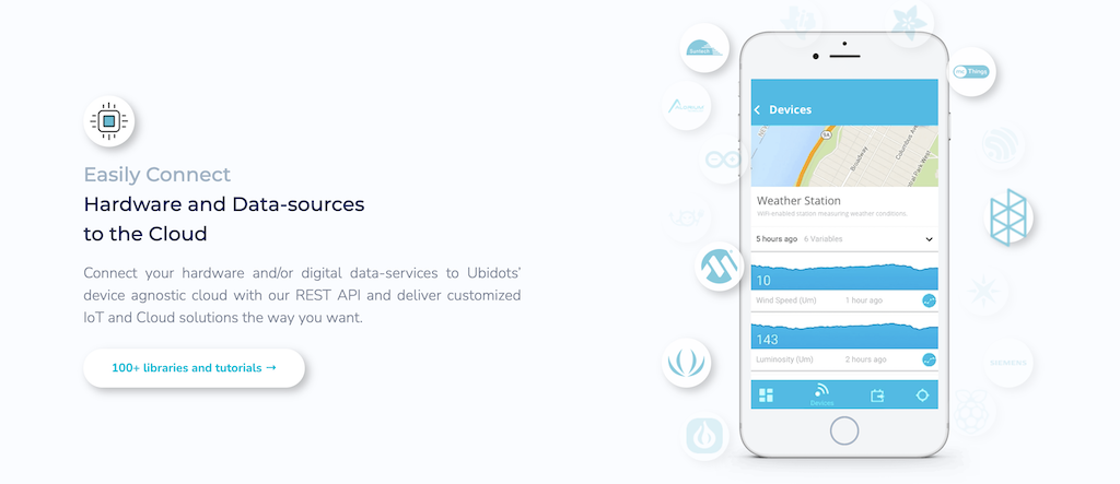 ubidots allows for easy iot device management