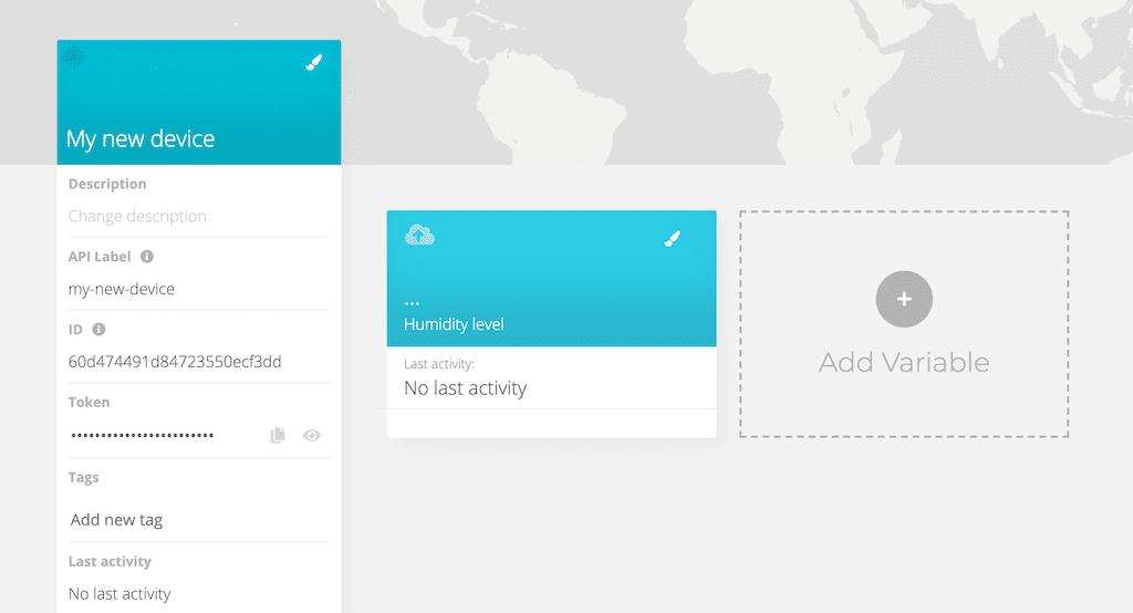 ubidots dashboard device management iot example