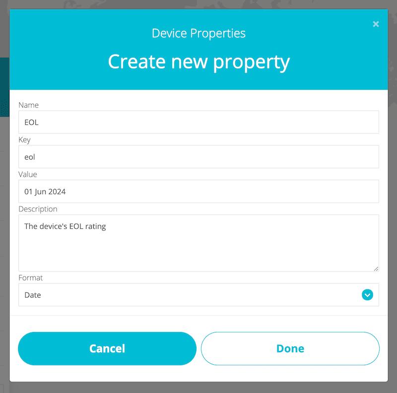 ubidots eol property iot device management