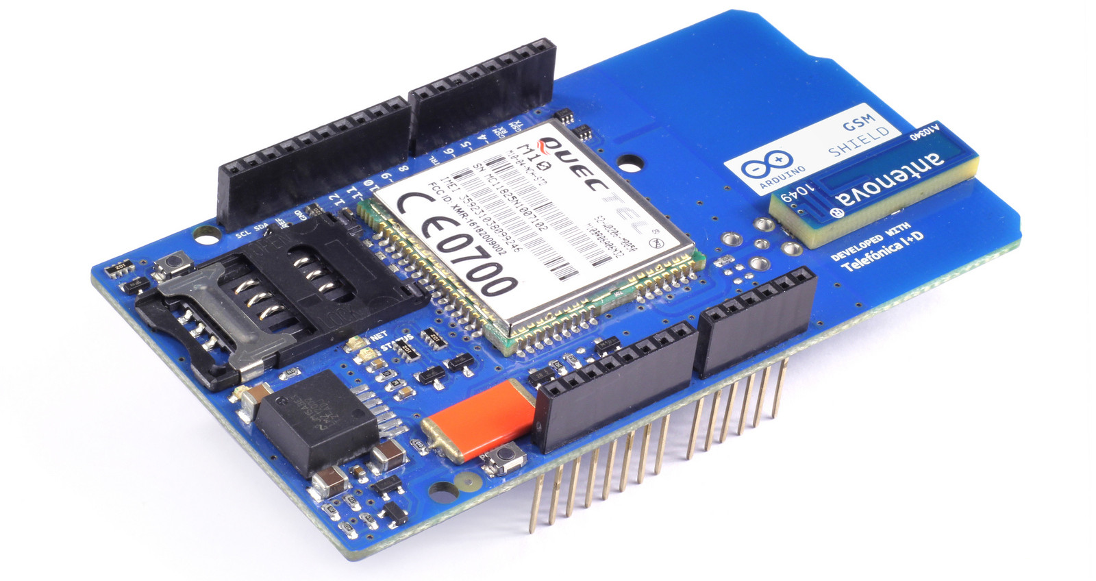 Arduino gsm shield by telefonica
